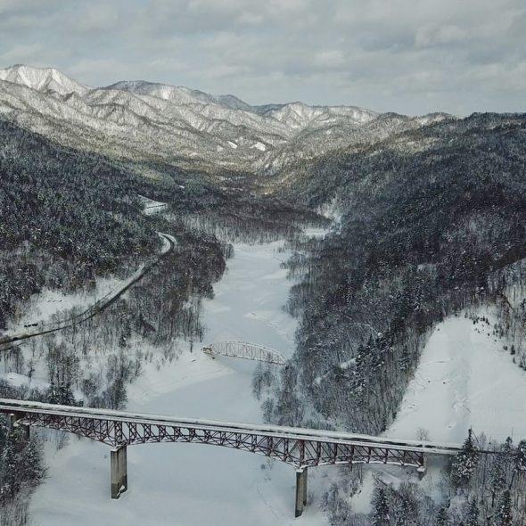 japon sous la neige